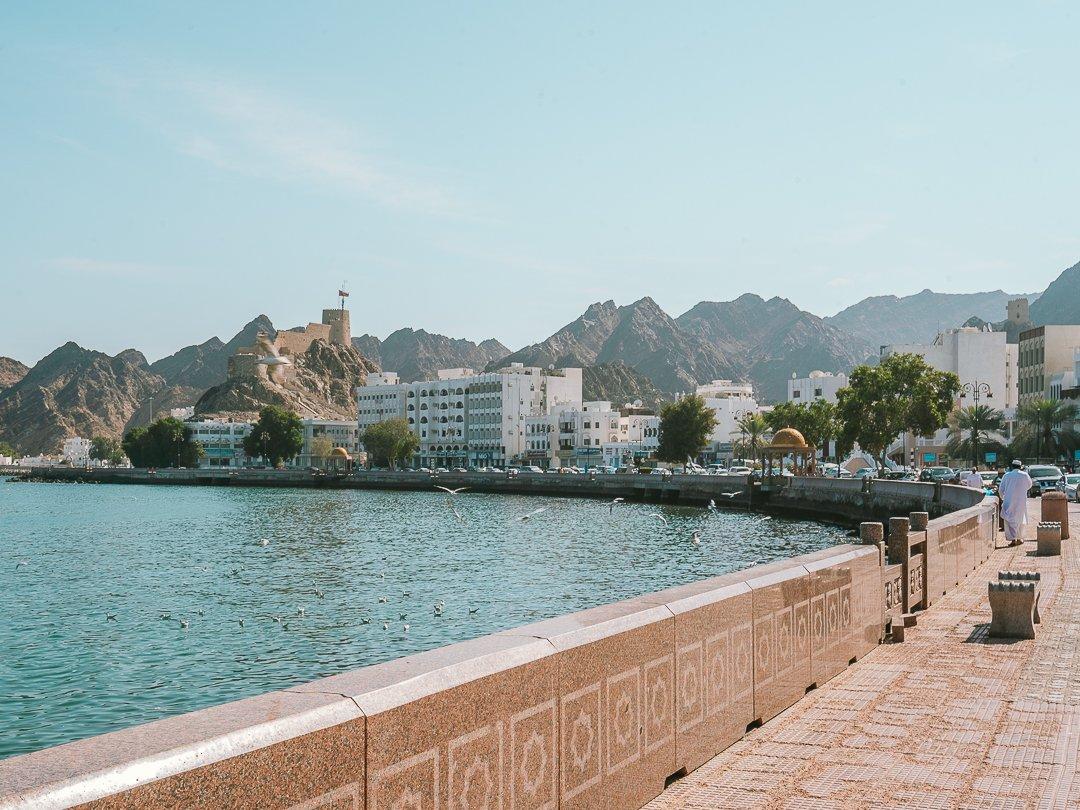 Corniche-Mascate-Omã
