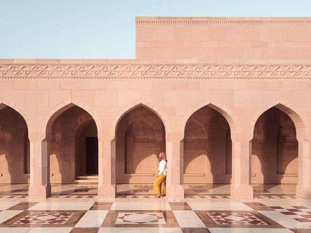 Mesquita-Mascate-Omã