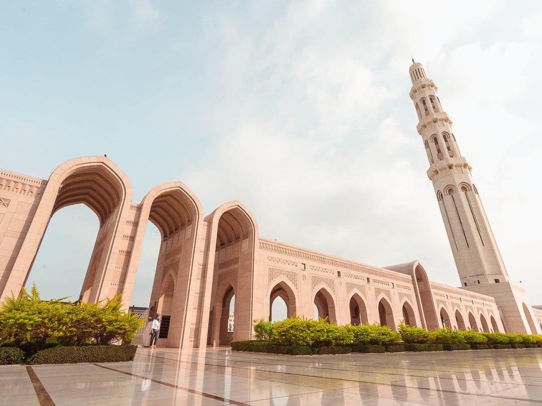 Mascate-Mesquita-Omã