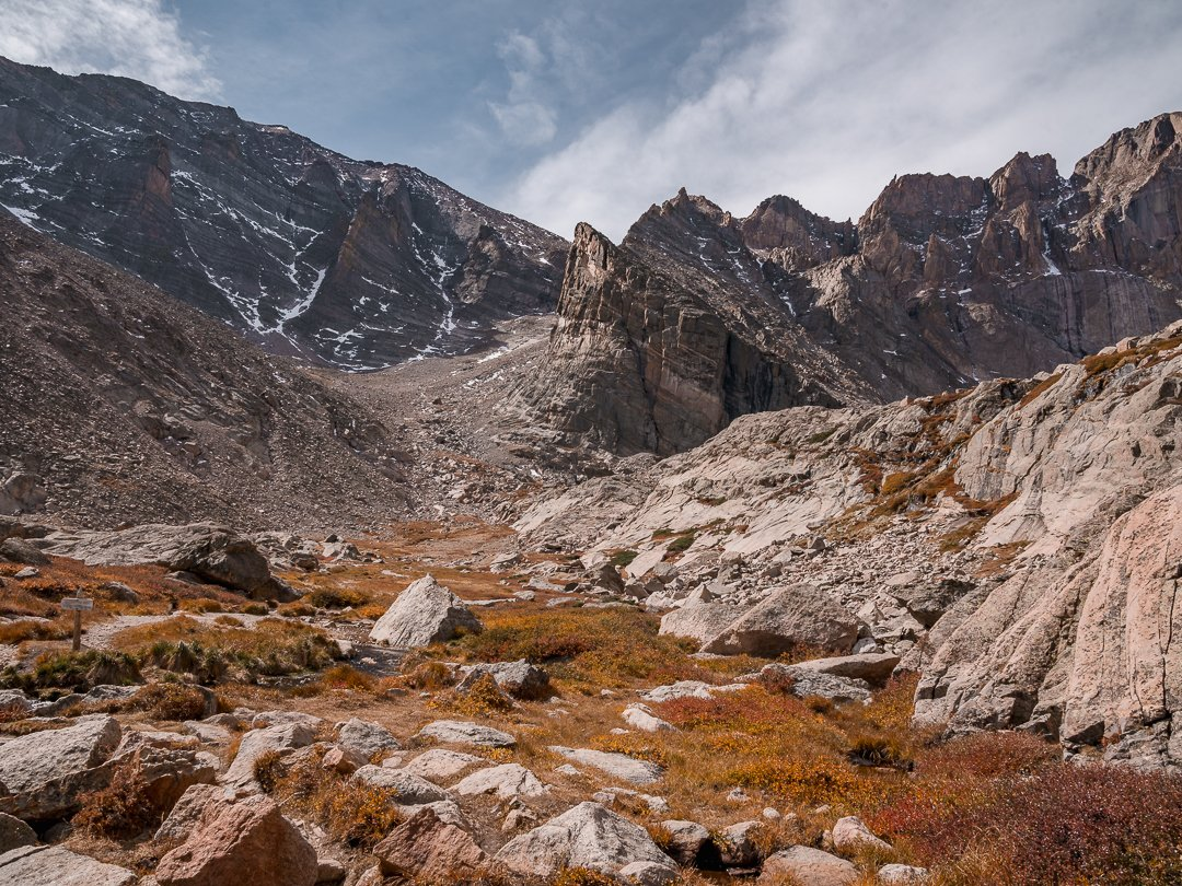 Chasm-Lake-trail-Rocky-Mountain-National-Park